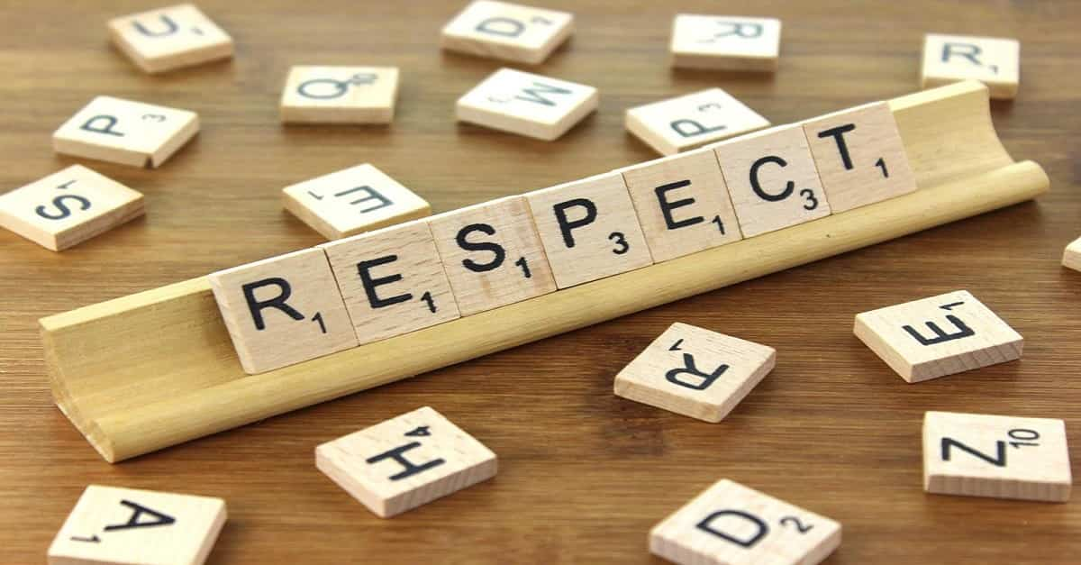 Why respect is important in society