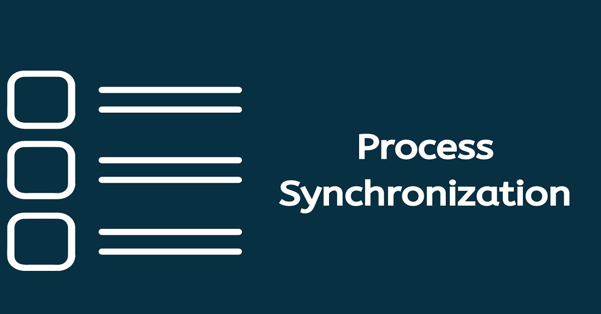 Process synchronization in OS