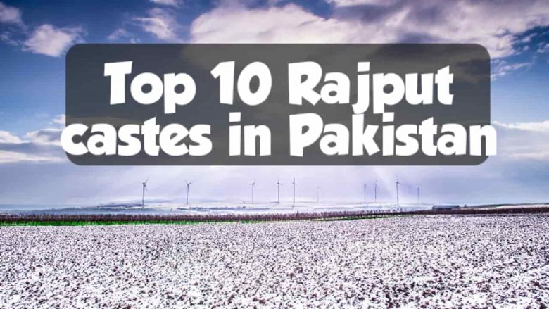 Top 10 Rajput castes in Pakistan