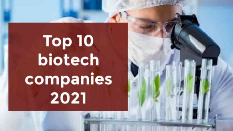 Top 10 Biotechnology companies in the world 2021