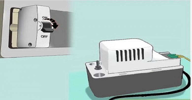 What does a condensate pump do?